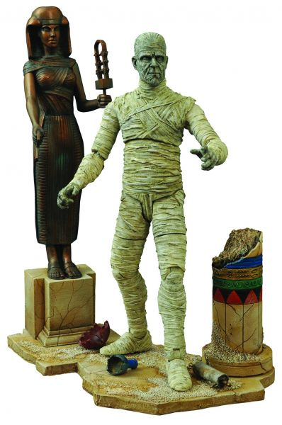 UNIVERSAL MONSTERS DIAMOND SELECT THE MUMMY DIE MUMIE VER 2 8INCH ACTIONFIGUR