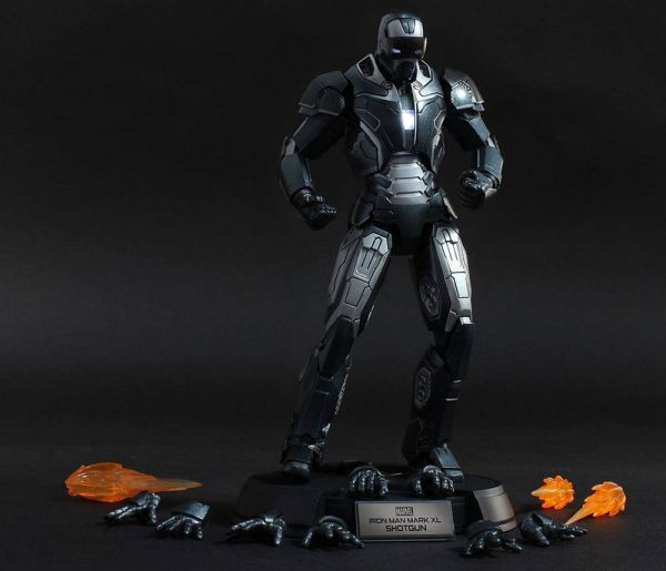 IRON MAN 3 Mark 40 Shotgun 1/12 SCALE DIECAST ACTIONFIGUR