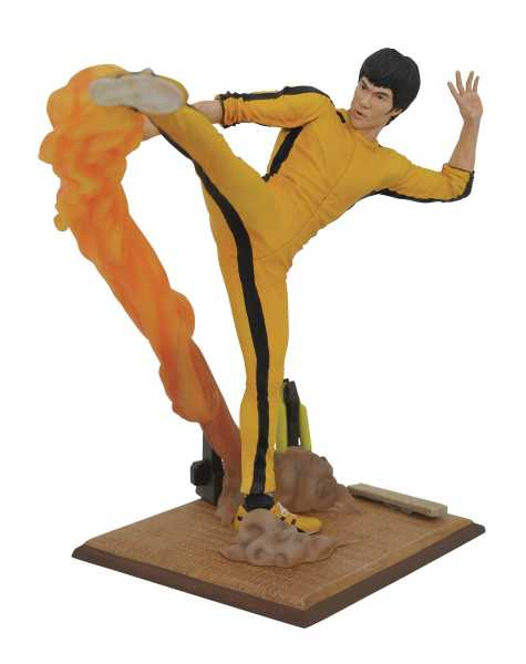 BRUCE LEE GALLERY KICKING PVC STATUE