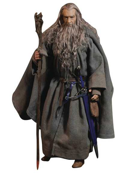 VORBESTELLUNG ! LORD OF THE RINGS CROWN SERIES GANDALF THE GREY ACTIONFIGUR