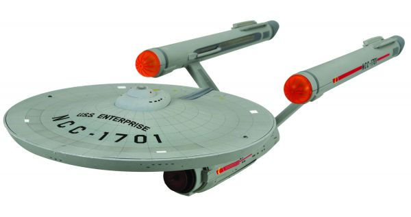 STAR TREK THE ORIGINAL SERIES USS ENTERPRISE NCC-1701 RAUMSCHIFF MIT LICHT & SOUND
