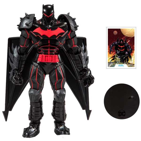 DC ARMORED WAVE 1 HELLBAT 7 INCH ACTIONFIGUR