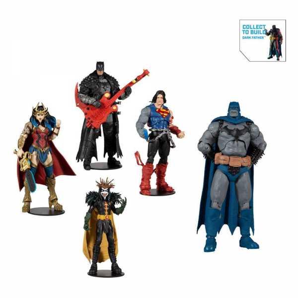 VORBESTELLUNG ! DC Multiverse Build A Darkfather 18 cm Actionfiguren Komplett-Set