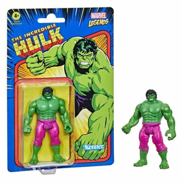 VORBESTELLUNG ! Marvel Legends Retro The Incredible Hulk Legends Actionfigur