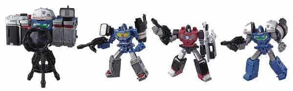 TRANSFORMERS GENERATIONS WAR FOR CYBERTRON: SIEGE DELUXE REFRAKTOR ACTIONFIGUR 3-PACK
