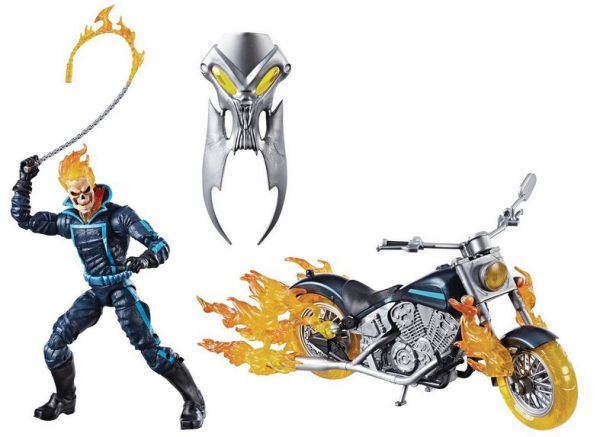 MARVEL LEGENDS 15 cm ULTIMATE GHOST RIDER ACTIONFIGUR MIT MOTORRAD