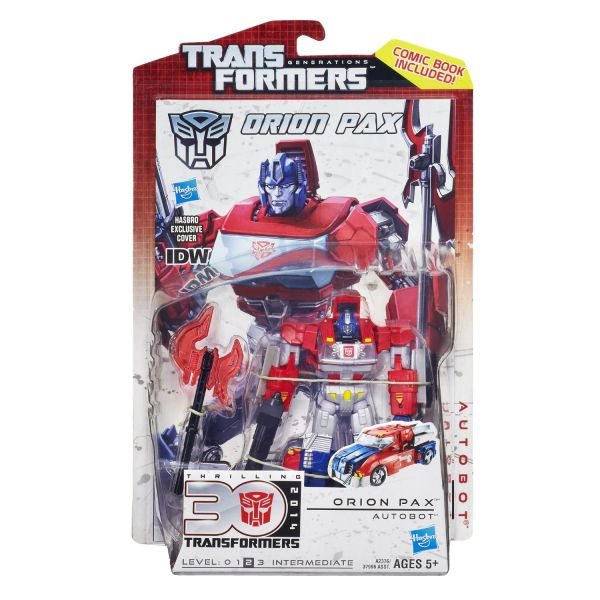 TRANSFORMERS GENERATIONS DELUXE ORION PAX ACTIONFIGUR