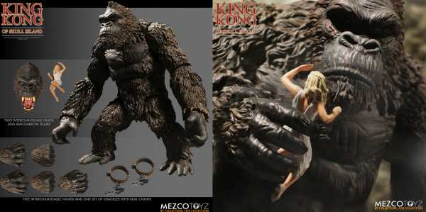 KING KONG OF SKULL ISLAND 7 INCH ACTIONFIGUR