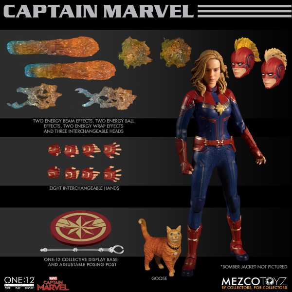 ONE-12 COLLECTIVE MARVEL CAPTAIN MARVEL ACTIONFIGUR