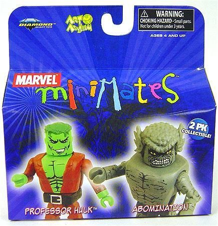 Marvel Minimates Series 20 Professor Hulk & Abomination Minifigure 2-Pack