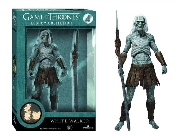 LEGACY GAME OF THRONES WHITE WALKER ACTIONFIGUR