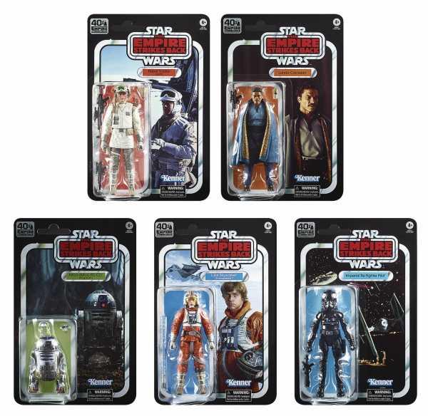 Vorbestellung ! Star Wars Black Series E V 40th Anniversary 6 Inch Actionfiguren Wave 2 Komplett-Set