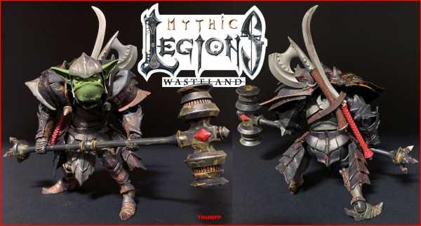 Mythic Legions: Wasteland Actionfigur Thumpp 15 cm
