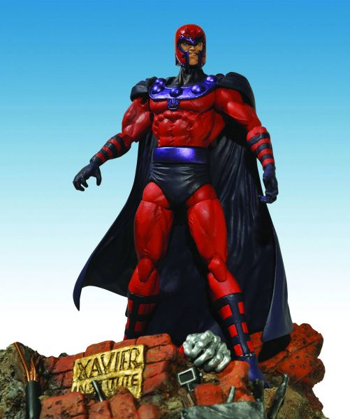 MARVEL SELECT MAGNETO ACTIONFIGUR