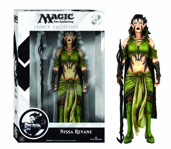 LEGACY MAGIC THE GATHERING NISSA REVANE ACTIONFIGUR
