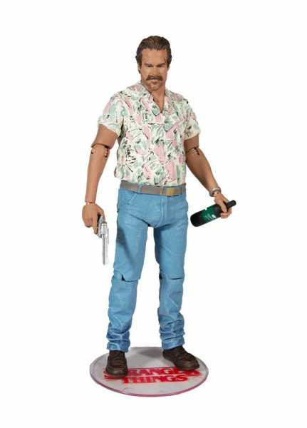 STRANGER THINGS 17,5 cm SERIES 4 CHIEF HOPPER ACTIONFIGUR