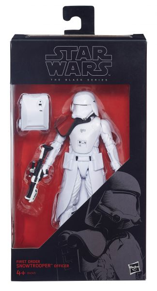 Star Wars The Black Series First Order Snowtrooper Officer 6 Actionfigur
