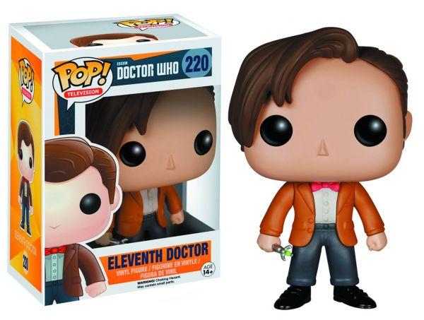 POP DOCTOR WHO 11TH DOCTOR VINYL FIGUR defekte Verpackung