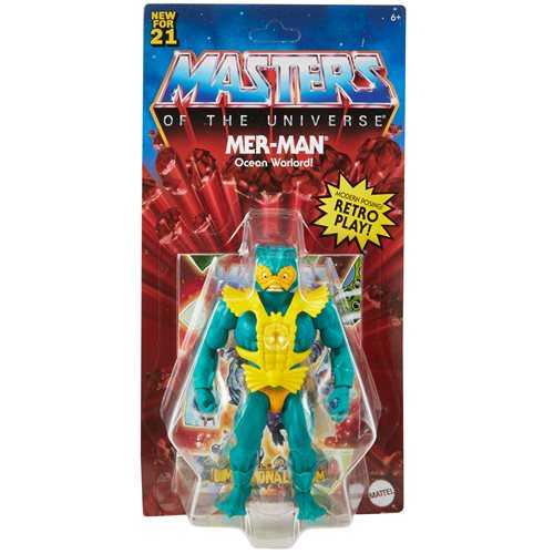 VORBESTELLUNG ! Masters of the Universe Origins Mer-Man Actionfigur US Version