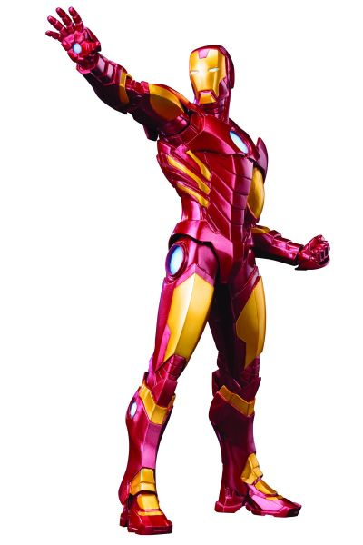 AVENGERS NOW IRON MAN RED VERSION ARTFX+ STATUE