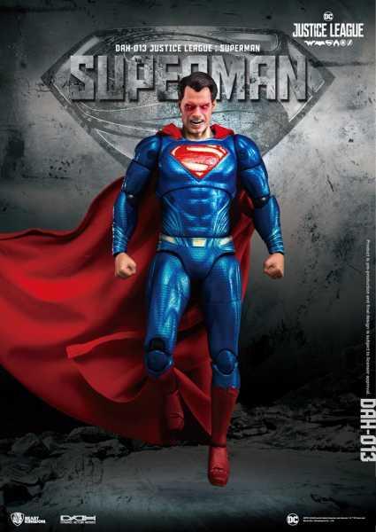 JUSTICE LEAGUE MOVIE DAH-013 DYNAMIC 8-CTION HEROES SUPERMAN PX ACTIONFIGUR