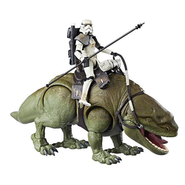Star Wars Black Series Dewback mit Stormtrooper Actionfigur