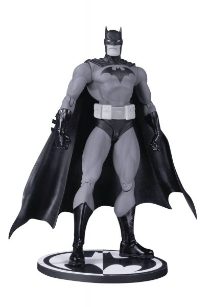 BATMAN BLACK AND WHITE ACTIONFIGUR HUSH BY JIM LEE