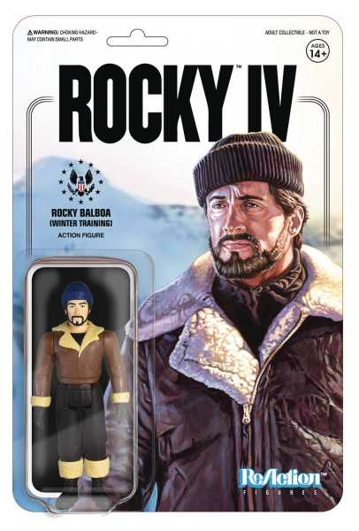 ROCKY ROCKY WINTER TRAINING REACTION ACTIONFIGUR