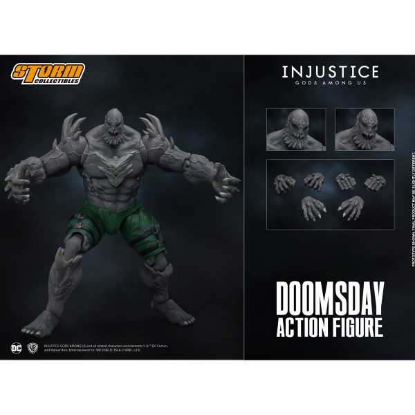 Injustice: Gods Among Us 1/12 Doomsday 26 cm Actionfigur