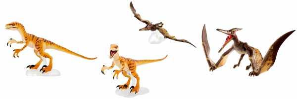 VORBESTELLUNG ! Jurassic World Dinosaur Amber Collection Wave 1 Actionfiguren Set