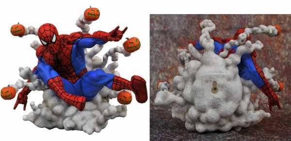 MARVEL GALLERY PUMPKIN BOMB SPIDER-MAN PVC STATUE
