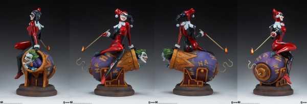 VORBESTELLUNG ! DC Comics Harley Quinn and The Joker 35 cm Diorama