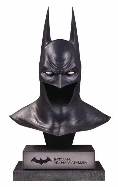 DC GALLERY ARKHAM ASYLUM BATMAN COWL