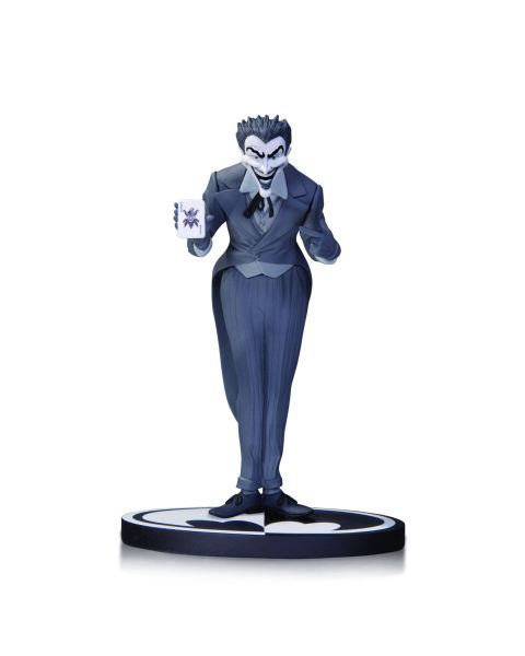 BATMAN BLACK AND WHITE STATUE JOKER BY DICK SPRANG