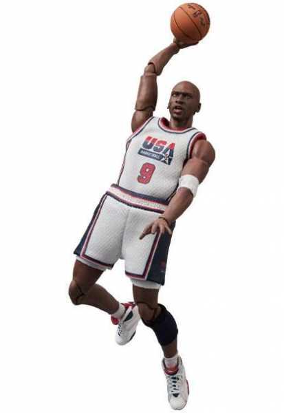 VORBESTELLUNG ! NBA MAF EX Michael Jordan (1992 Team USA) 17 cm Actionfigur