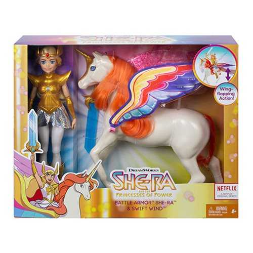 She-Ra & the Princesses of Power Battle Armor She-Ra & Swift Wind Actionfiguren-Set