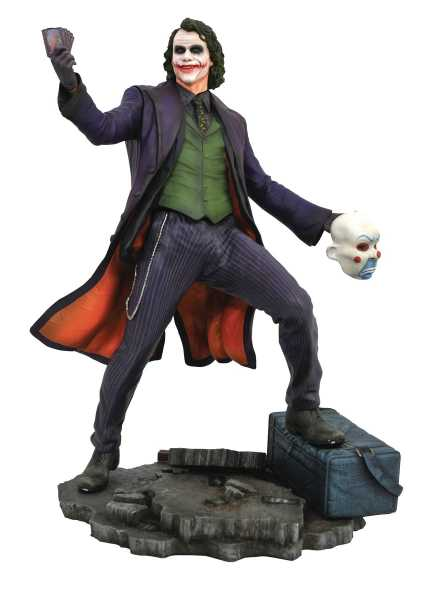 DC GALLERY BATMAN DARK KNIGHT MOVIE JOKER PVC STATUE