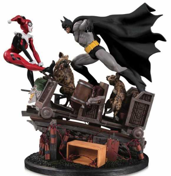 Batman vs. Harley Quinn Battle Second Edition Statue
