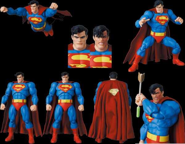 VORBESTELLUNG ! THE DARK KNIGHT RETURNS SUPERMAN MAFEX ACTIONFIGUR