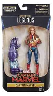 CAPTAIN MARVEL LEGENDS CAPTAIN MARVEL (BOMBER JACKET) ACTIONFIGUR ohne BAF-Teil
