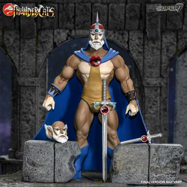 VORBESTELLUNG ! Thundercats Ultimates Jaga the Wise 7 Inch Actionfigur