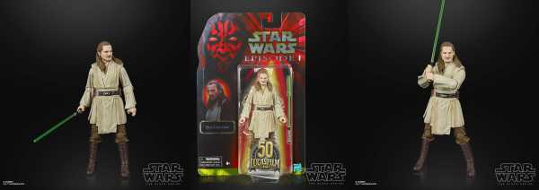 Star Wars E I Black Series Lucasfilm 50th Anniv. Qui-Gon Jinn 15 cm Actionfigur