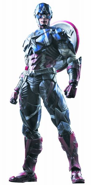 MARVEL UNIVERSE VARIANT PLAY ARTS KAI CAPTAIN AMERICA ACTIONFIGUR