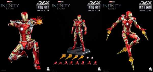 VORBESTELLUNG ! Avengers: Infinity Saga Iron Man Mark 43 DLX 1:12 Scale Actionfigur