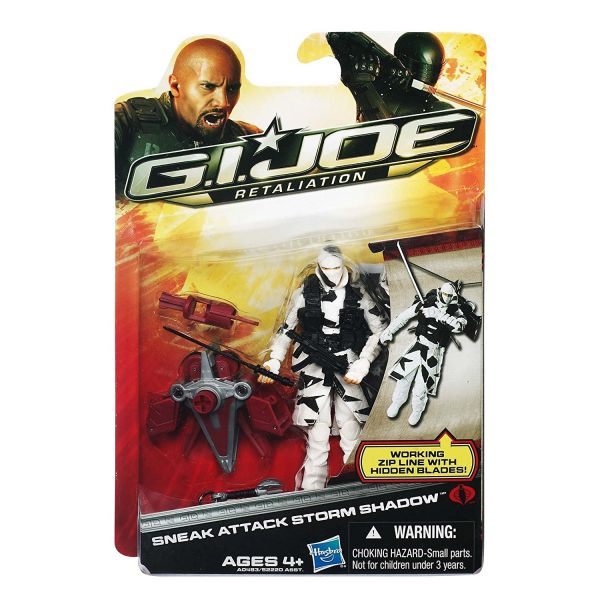 GI JOE 2 MOVIE SNEAK ATTACK STORM SHADOW ACTIONFIGUR