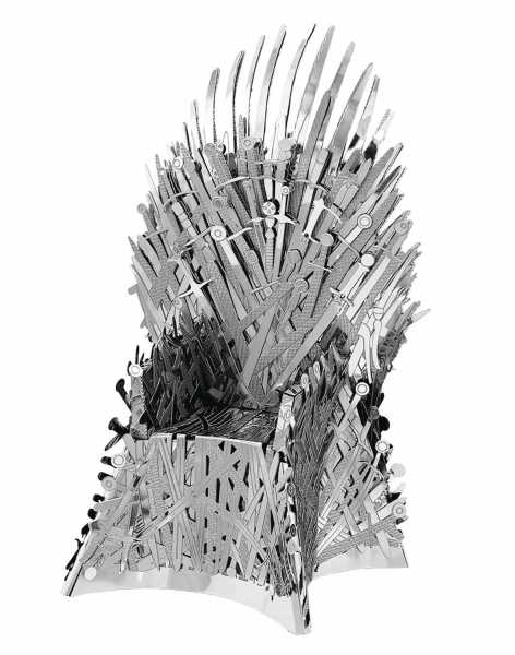 GAME OF THRONES METAL EARTH IRON THRONE MODELLBAUSATZ
