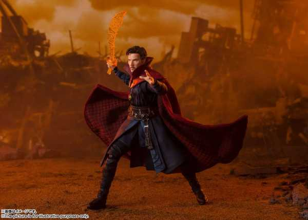 Avengers Infinity War S.H. Figuarts Doctor Strange (Titan Battle) 15 cm Actionfigur