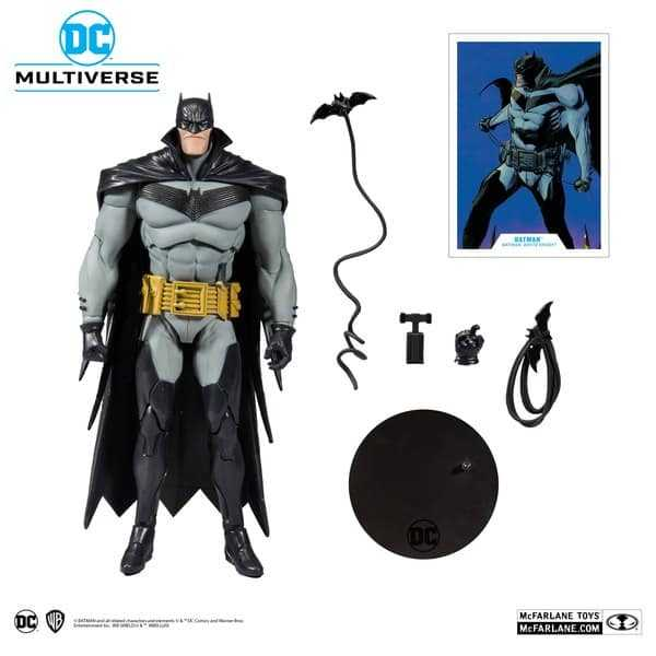 DC Multiverse White Knight Batman 18 cm Actionfigur