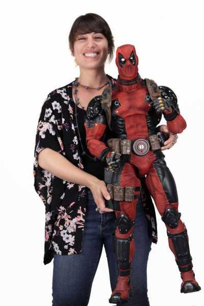 Marvel Comics 1/2 Deadpool 91 cm Actionfigur