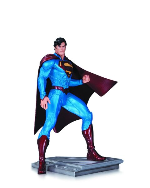 SUPERMAN MAN OF STEEL STATUE BY CULLY HAMNER